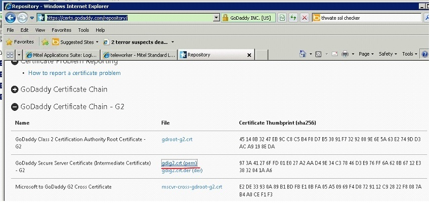 How to change certificate on MSL | Phonesystemhelp.info